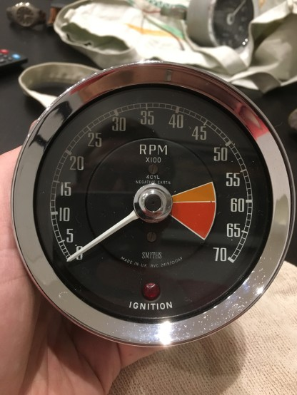 MG Gauges Rev Counter