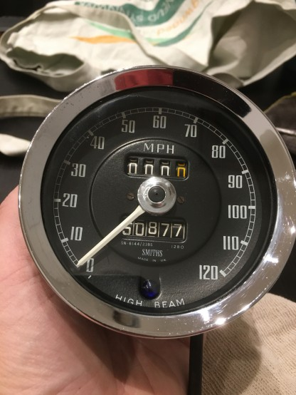 MG Gauges Speedo